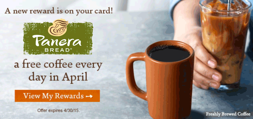 Panera Bread Coupon July 2018 Free rewards members enjoy free coffee daily all month at Panera Bread