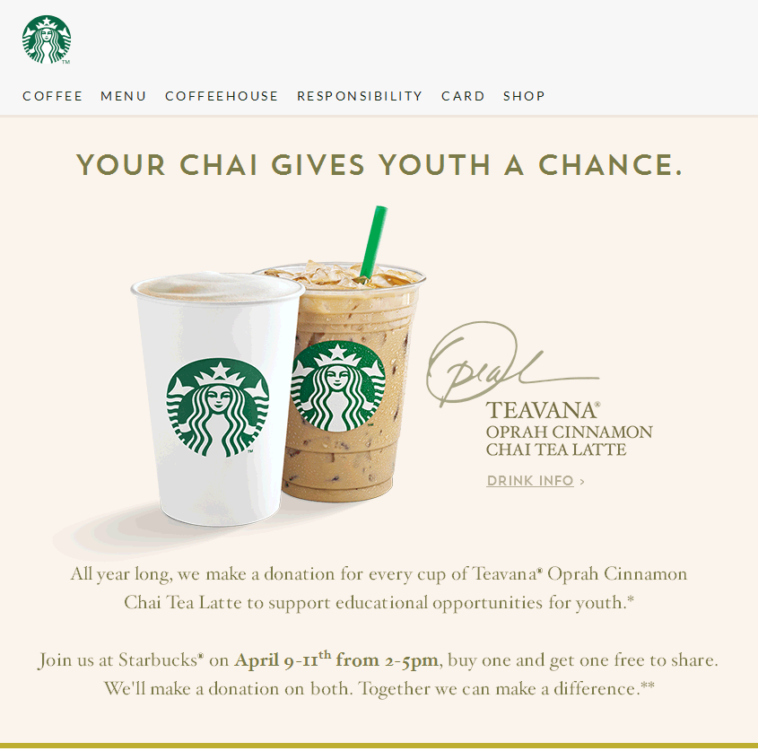 Starbucks Coupon March 2018 Second latte free 2-5pm at Starbucks