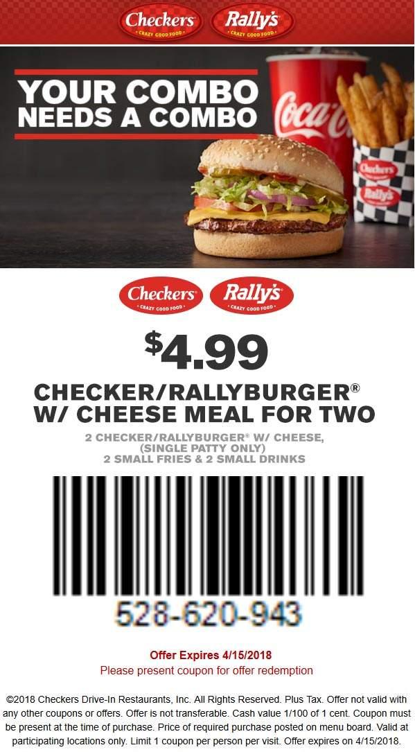 Rallys coupons