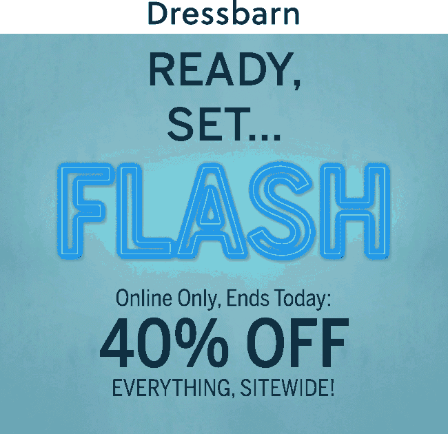 Dressbarn Coupon July 2019 40% off everything online today at Dressbarn