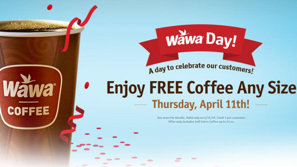 Wawa Coupon August 2019 Free coffee today at Wawa gas stations