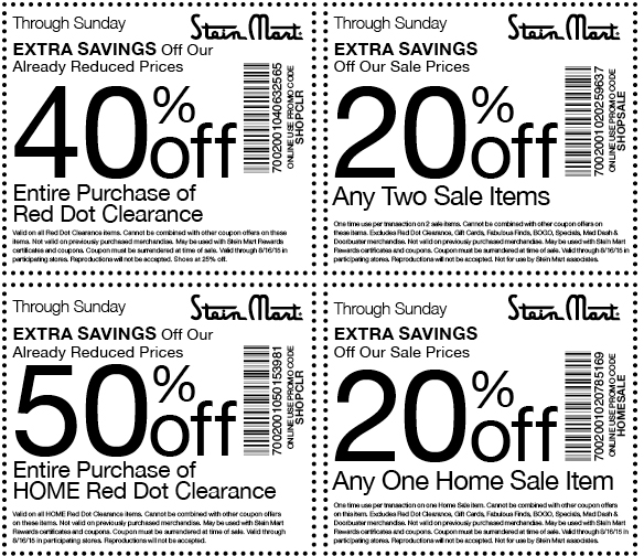 Stein Mart Coupon December 2018 Extra 20-50% off at Stein Mart, or online via promo code SHOPCLR