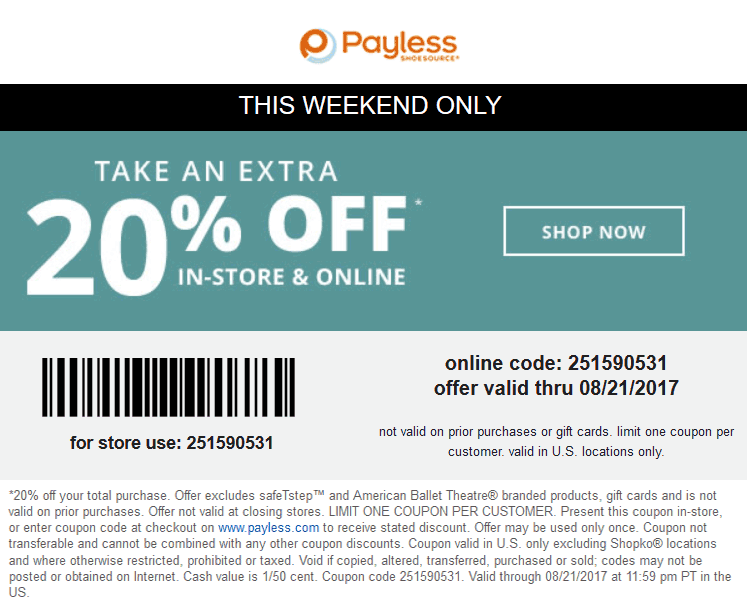 It is a graphic of Resource Payless Coupons December 2020