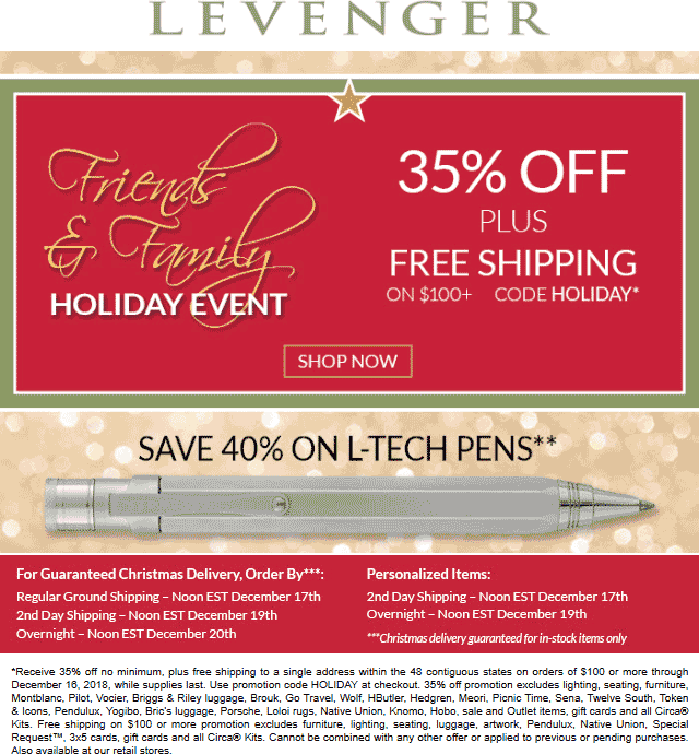 Lavenger Coupon January 2020 35% off at Lavenger, or online via promo code HOLIDAY