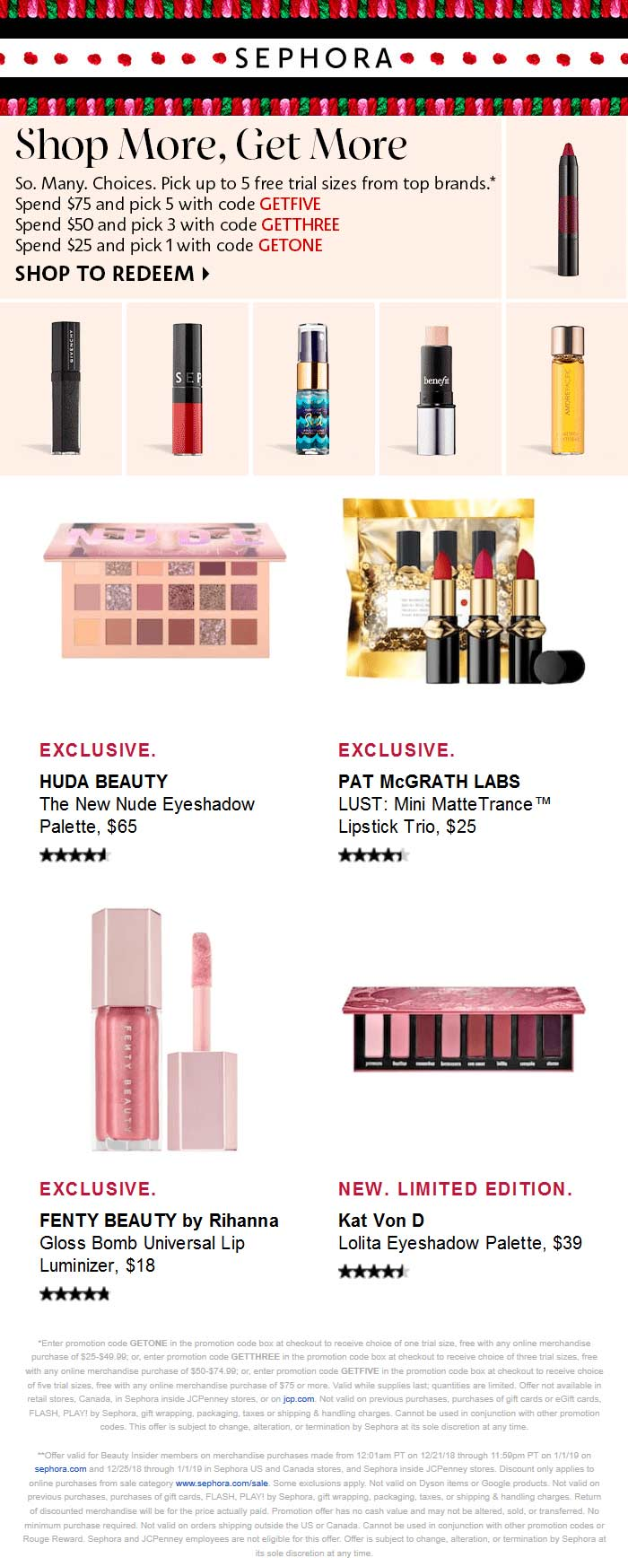 Sephora Coupon August 2019 20% off sale items at Sephora, ditto online