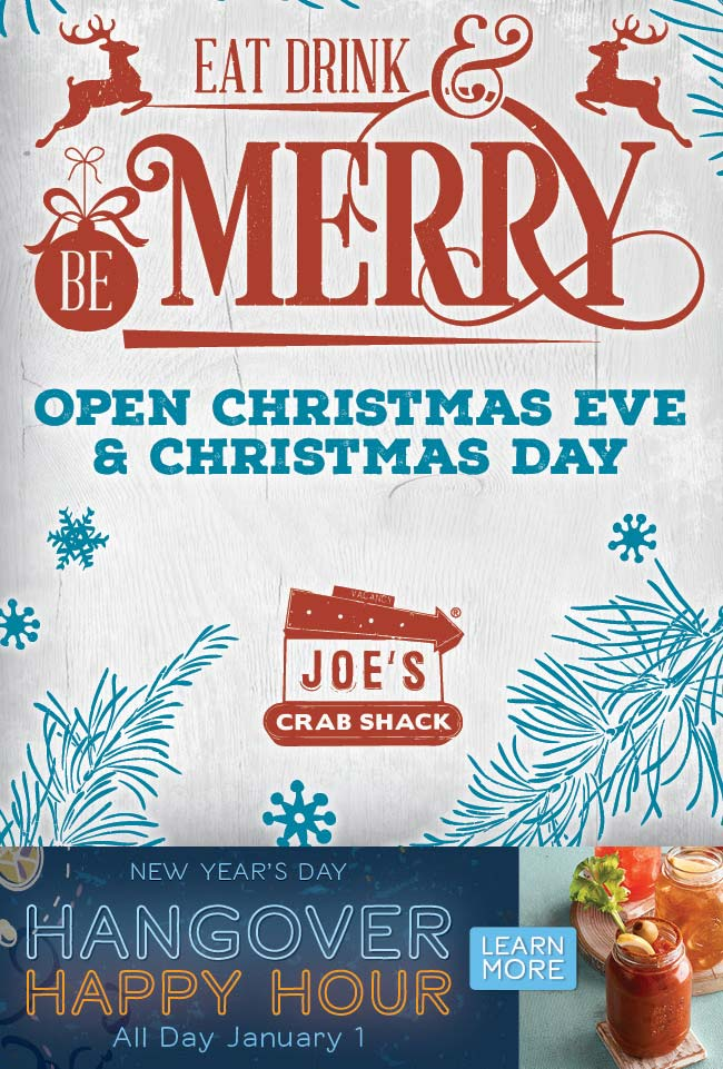 Joes Crab Shack Coupon January 2020 Another option to forgo holiday cooking today at Joes Crab Shack restaurants