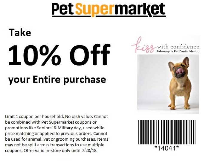 picture regarding Pet Supermarket Coupons Printable identify Canine Grocery store Discount codes - 10% off at Pet dog Grocery store