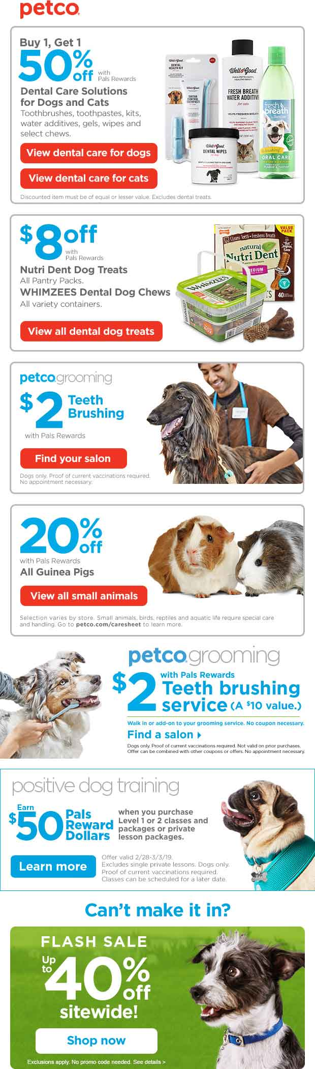 Petco Coupon May 2019 20% off guinea pigs & more at Petco