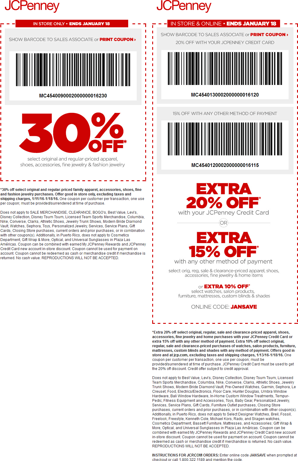 JCPenney Coupon July 2017 30% off at JCPenney