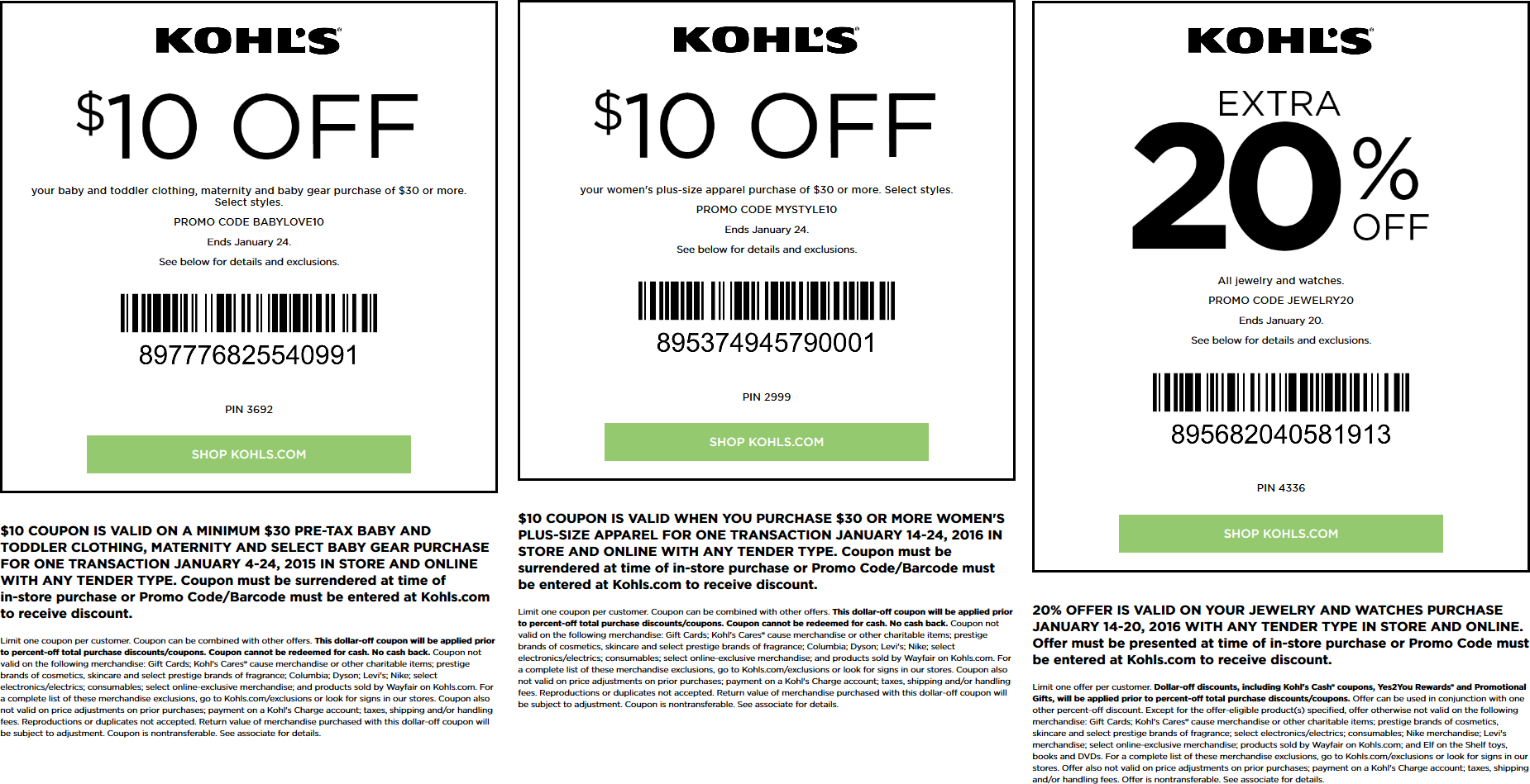 Kohls Coupon November 2017 $10 off $30 on baby, maternity, plus size & more at Kohls, or online via promo code BABYLOVE10