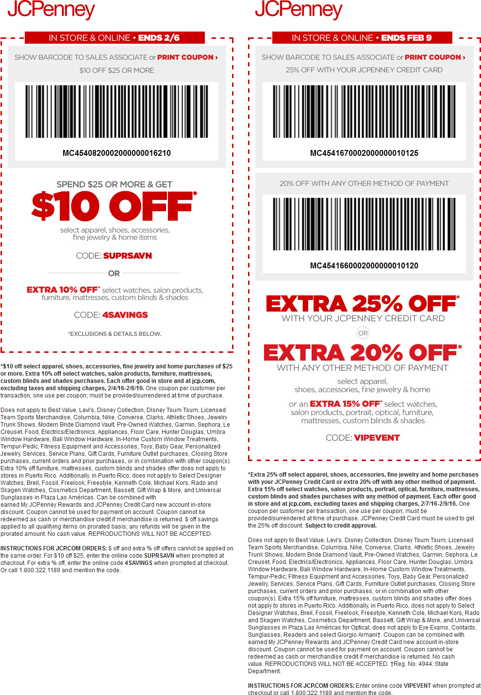JCPenney Coupon March 2017 $10 off $25 & more at JCPenney, or online via promo code SUPRSAVN