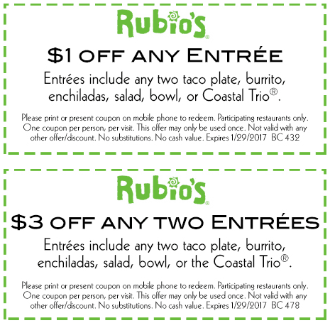 Rubios coupon code