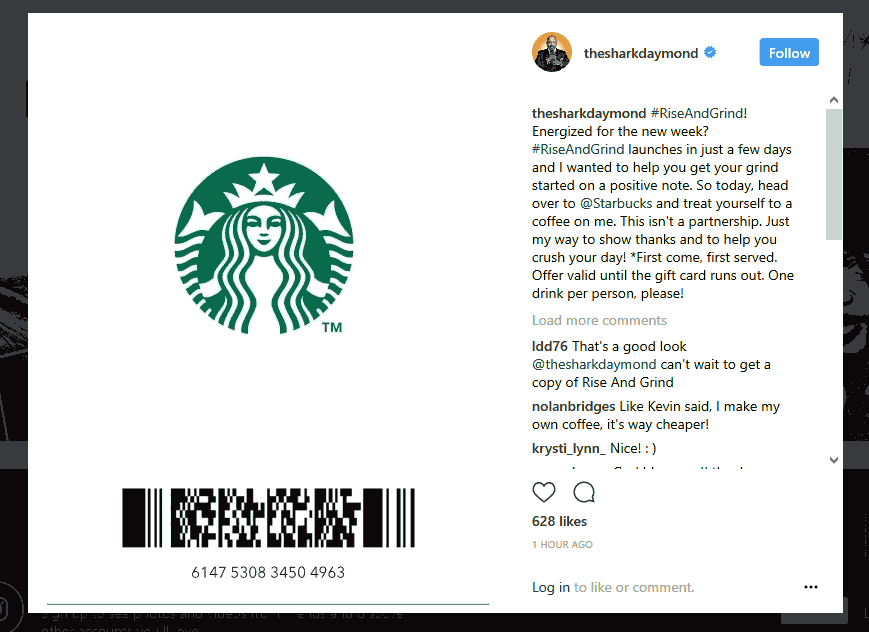 Starbucks Coupon January 2019 Free Starbucks while the gift card value lasts today