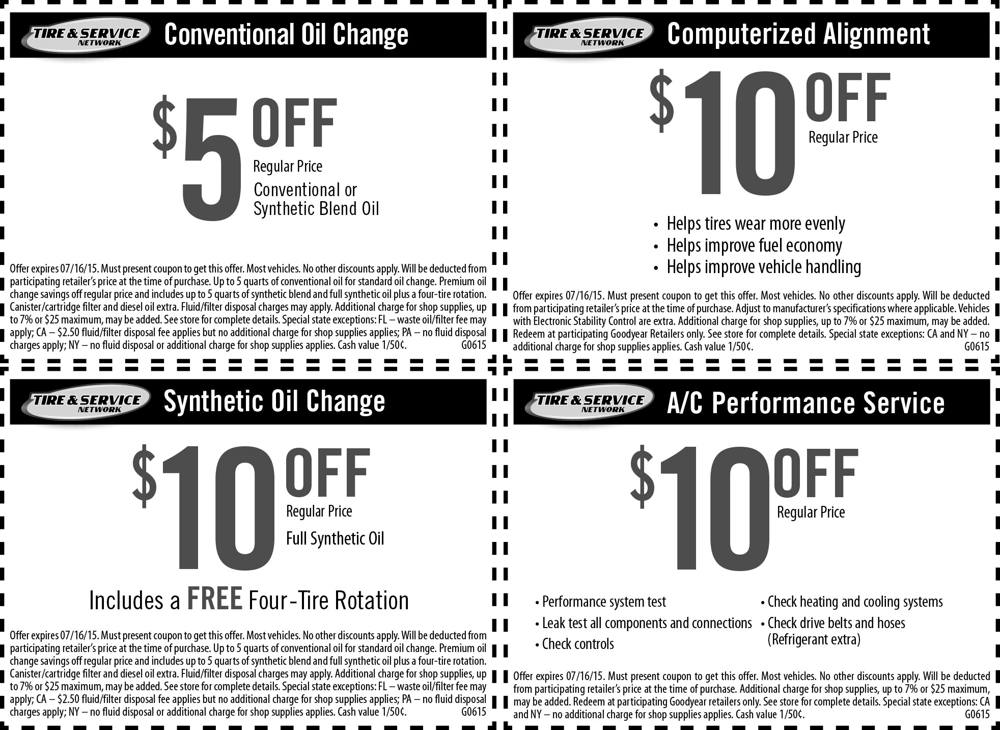Goodyear Coupon November 2017 $5-$10 off an oil change, alignment & more at Goodyear