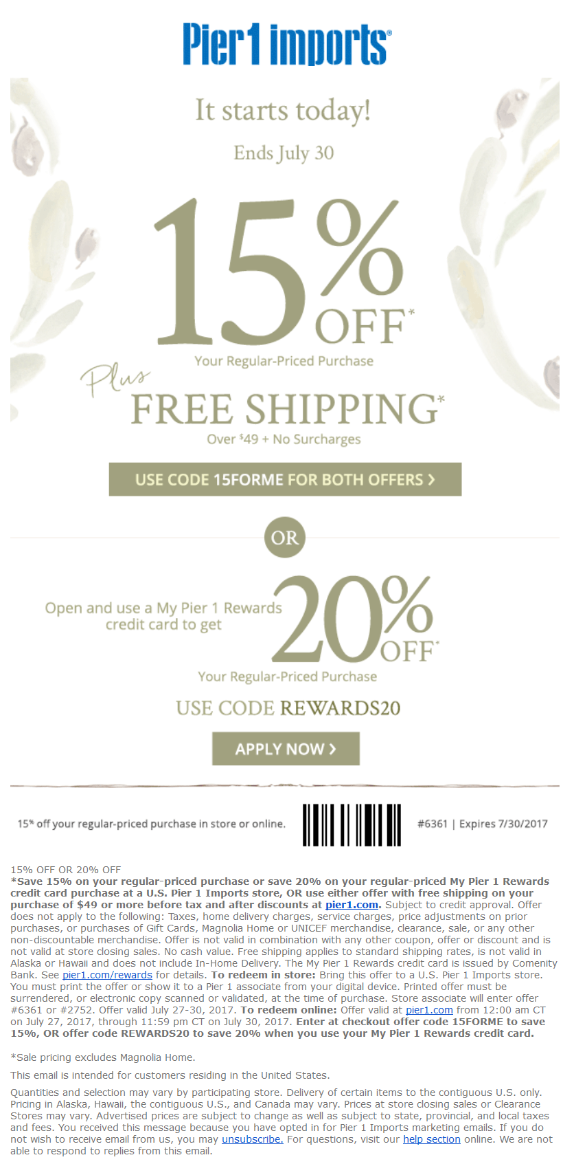 It is a photo of Challenger Pier One Coupon Printable