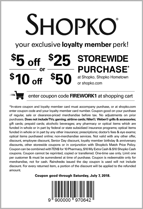 photograph about Shopko Printable Coupons identified as Shopko Coupon codes - $5 off $25 extra at Shopko, or on the net by