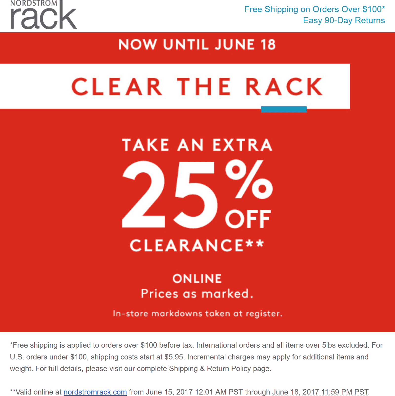 0141407ac04 Nordstrom Rack Coupons - Extra 25% off clearance at Nordstrom Rack ...
