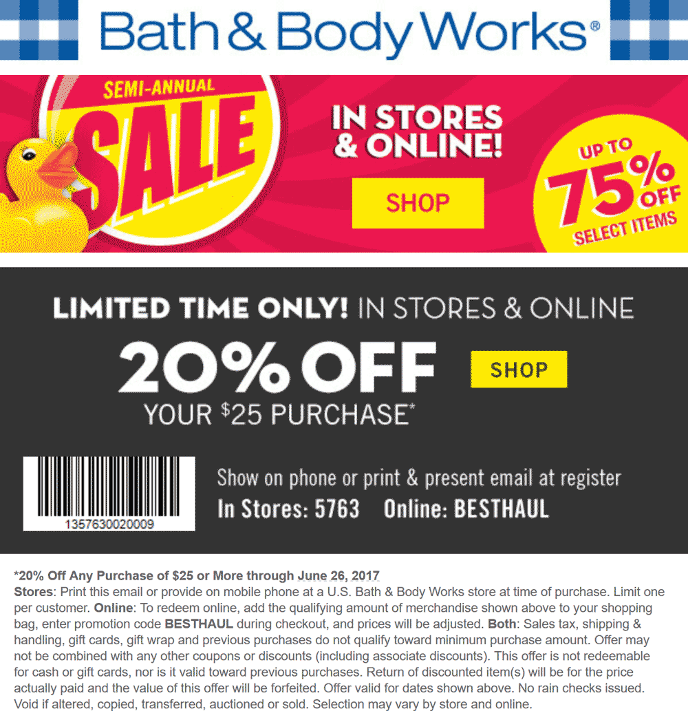 It is a photo of Unusual Bath and Body Works Coupons in Store Printable 2020