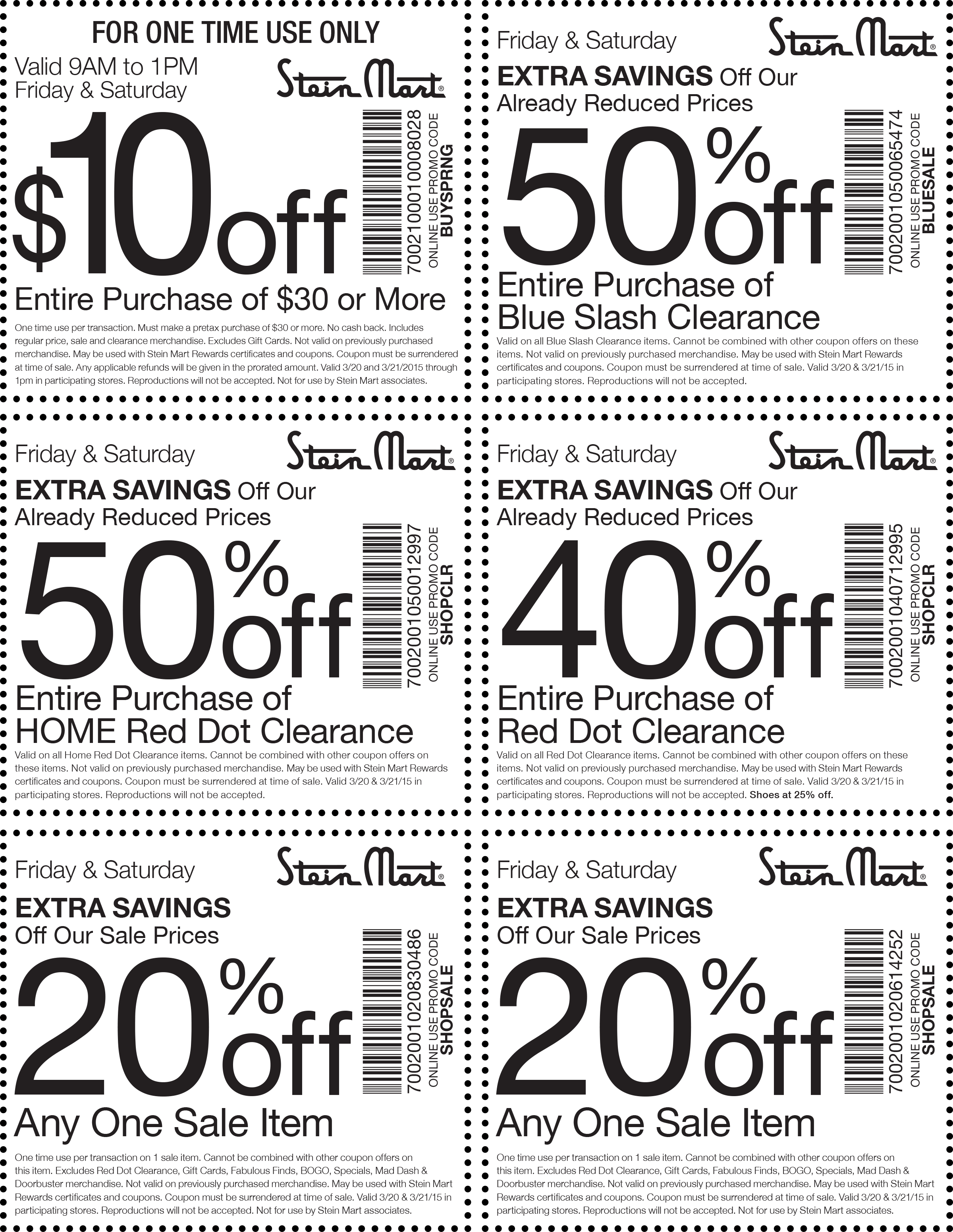 Stein Mart Coupon August 2017 $10 off $30 & more at Stein Mart, or online via promo code BUYSPRNG