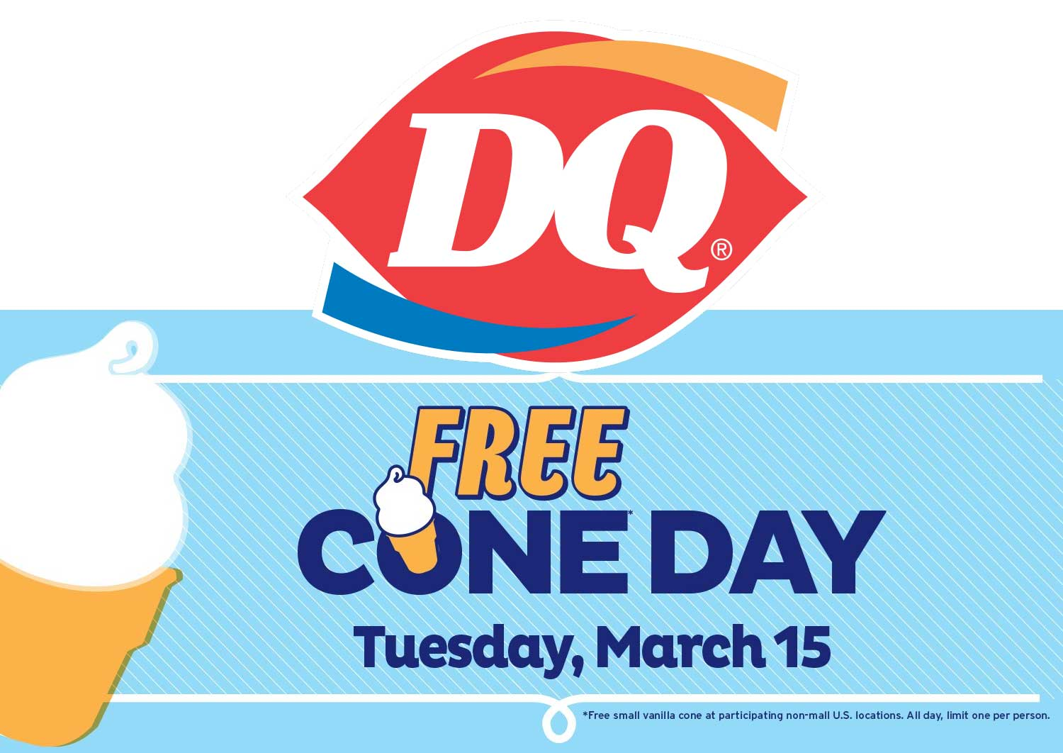 Dairy Queen Coupon August 2018 Free ice cream cone Tuesday at Dairy Queen
