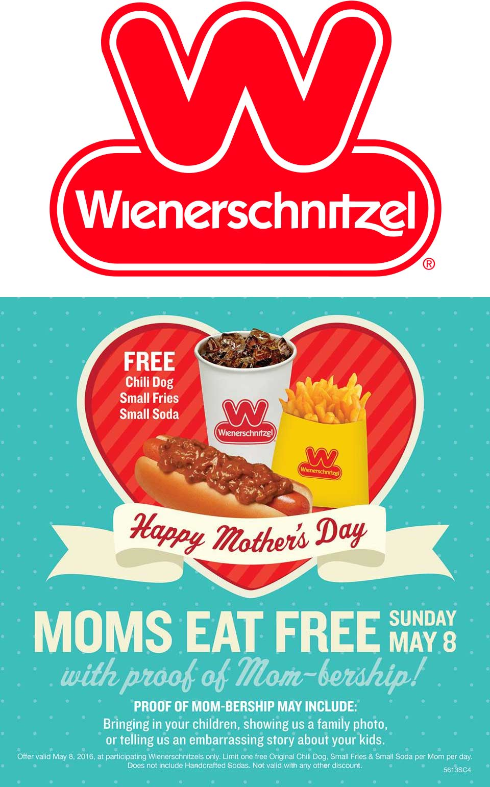 Wienerschnitzel Coupon January 2017 Mom enjoys a free chili dog + fries + soda Sunday at Wienerschnitzel restaurants