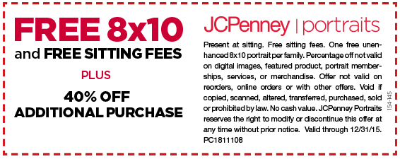 Free Sample: 8x10 photo Coupon January 2017 Free Sample: 8x10 photo