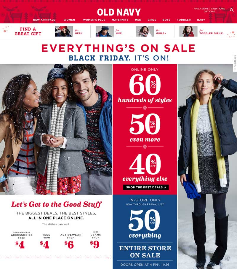 Old Navy Coupon July 2017 50% off everything at Old Navy, or 40-60% off online