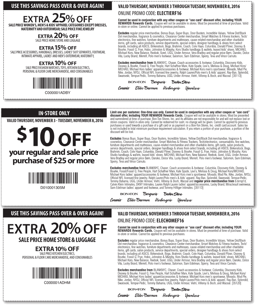 Carsons coupon code