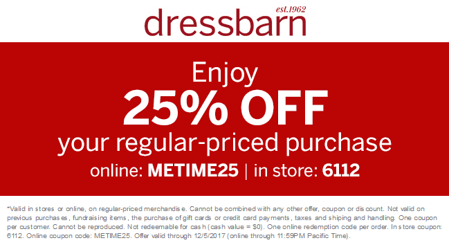 photo about Dress Barn Coupon Printable named Costume Barn Coupon codes Promo Codes