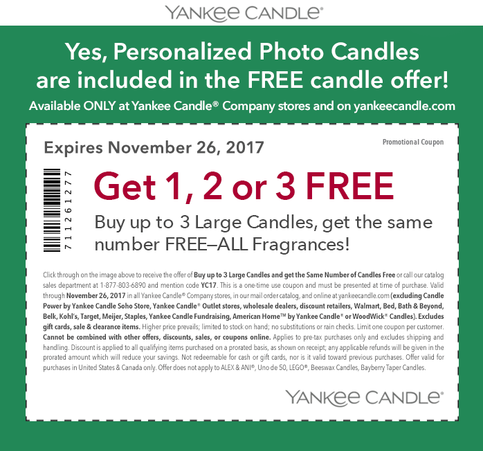 Yankee candle outlet coupons 2018