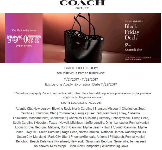 coach outlet promo code 2020