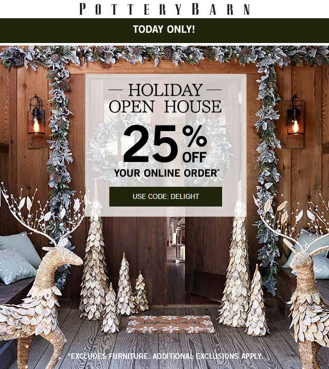 25% Off Online Today At Pottery