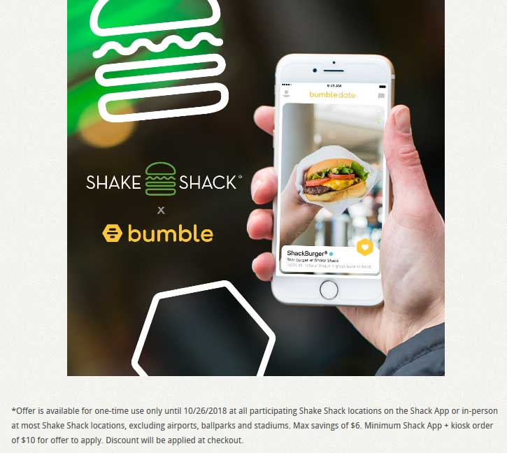 Shake Shack Coupon January 2020 Second cheeseburger free at Shake Shack restaurants via promo code SHAKEITUP