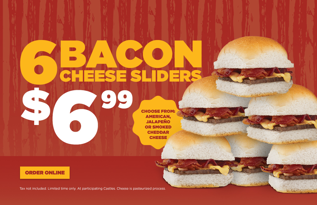 White Castle Coupon December 2019 6 bacon cheeseburgers for $7 at White Castle restaurants
