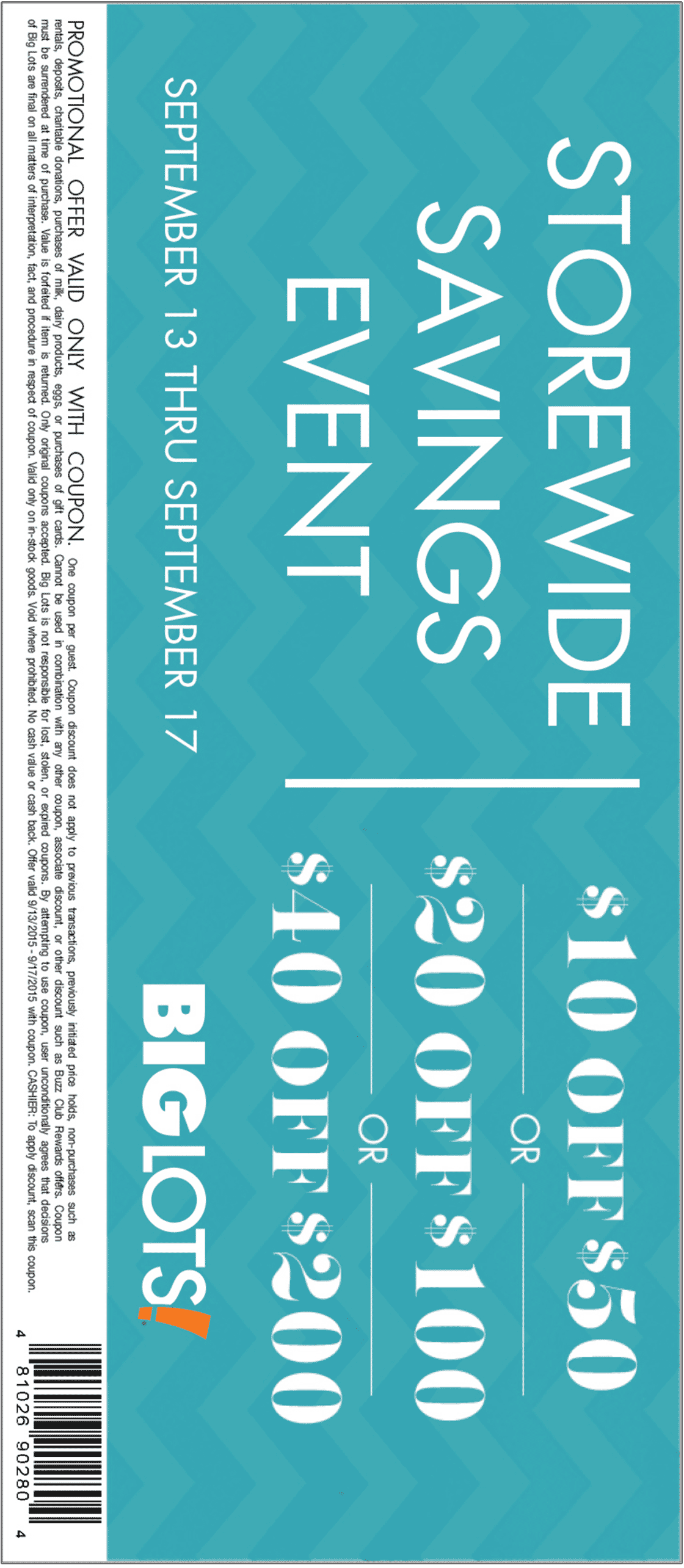Big Lots Coupon March 2018 $10 off $50 & more at Big Lots