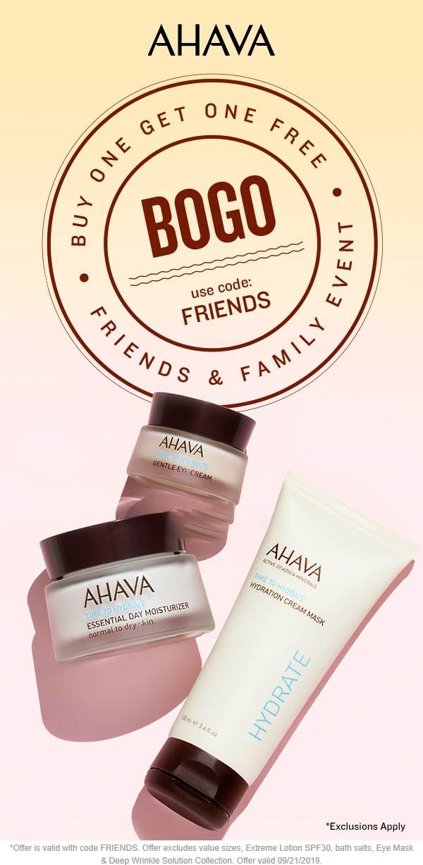 AHAVA Coupon November 2019 Second item free at AHAVA via promo code FRIENDS