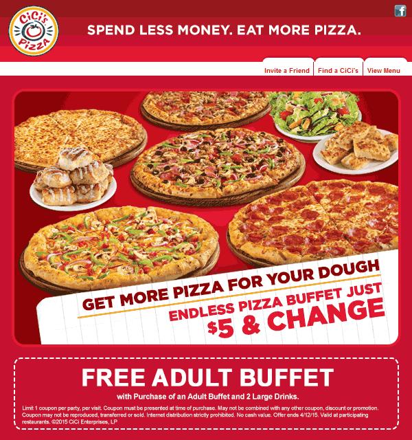 cicis pizza deals