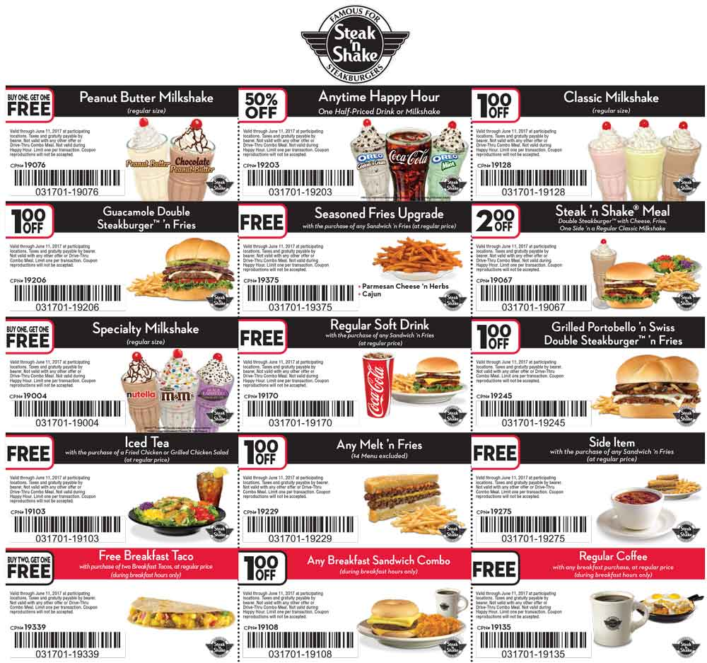 photo about Steak and Shake Coupons Printable titled Steak n shake discount codes printable - Apple retailer within tx