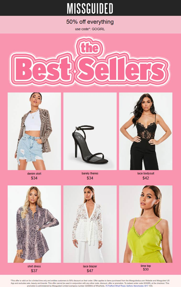 Missguided coupons & promo code for [January 2021]