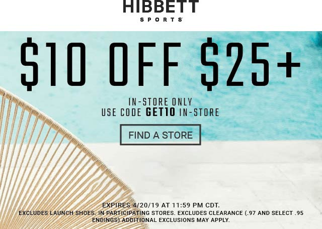 Hibbett Sports coupons & promo code for [October 2020]