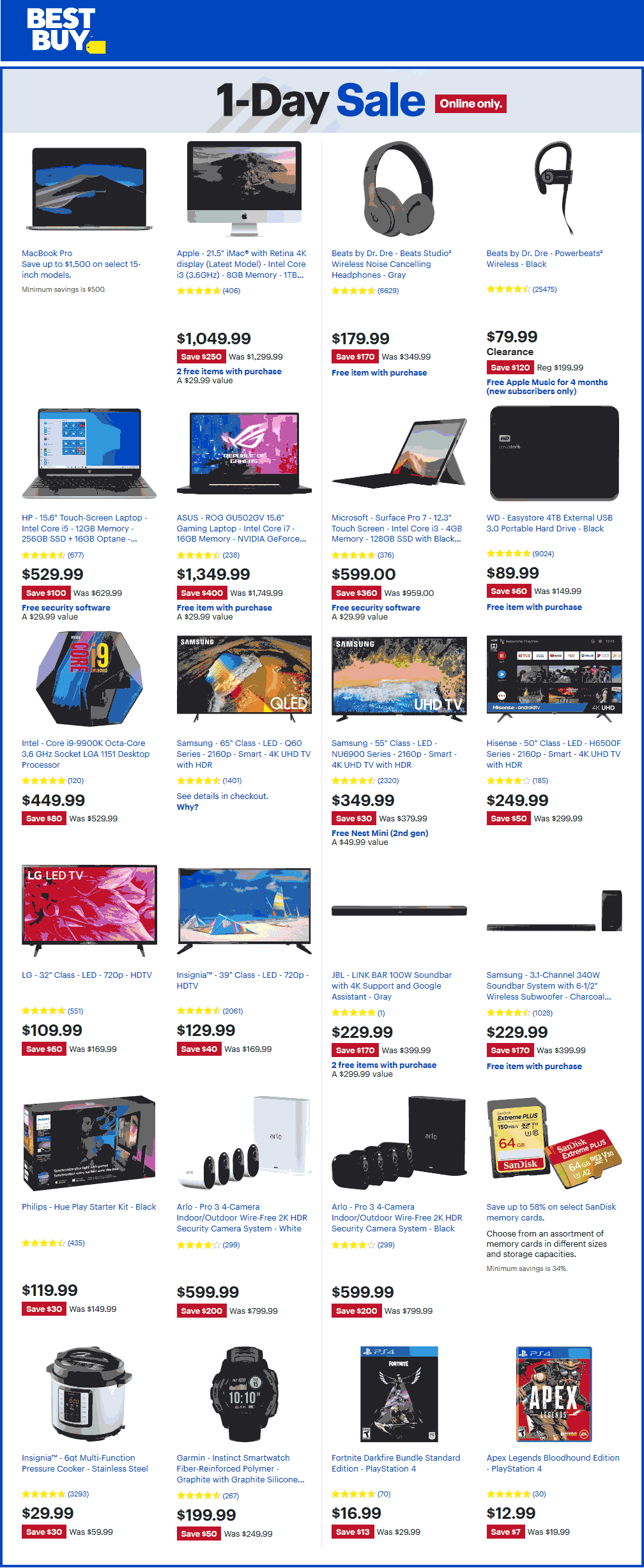 Best Buy coupons & promo code for [October 2020]