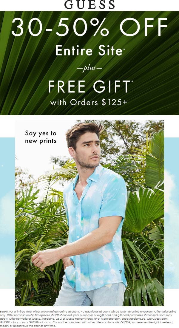 Guess coupons & promo code for [August 2020]