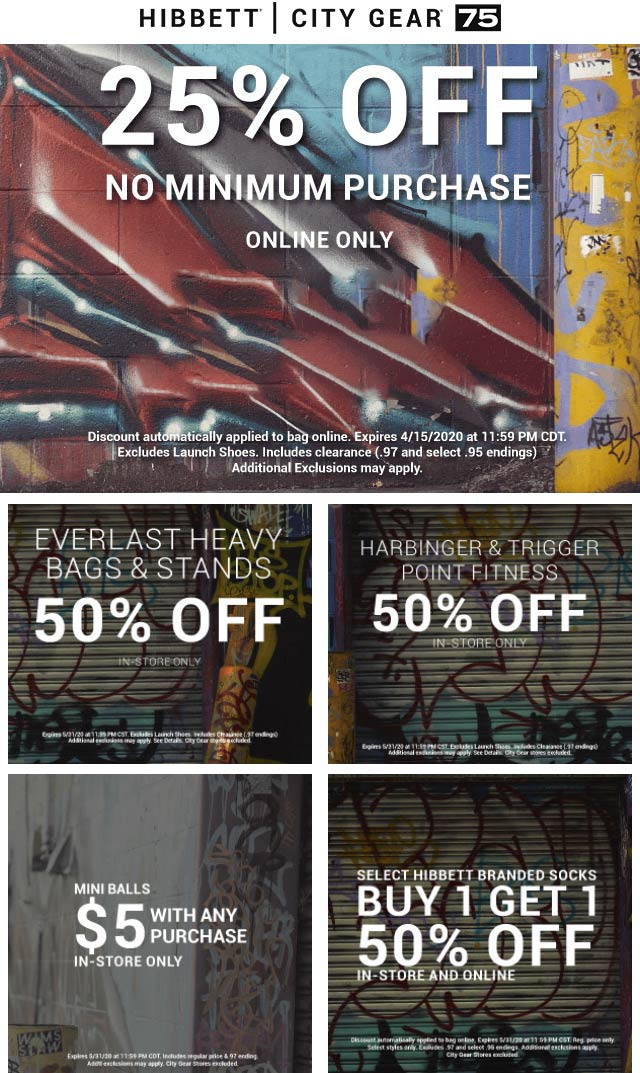 Hibbett Sports coupons & promo code for [April 2021]