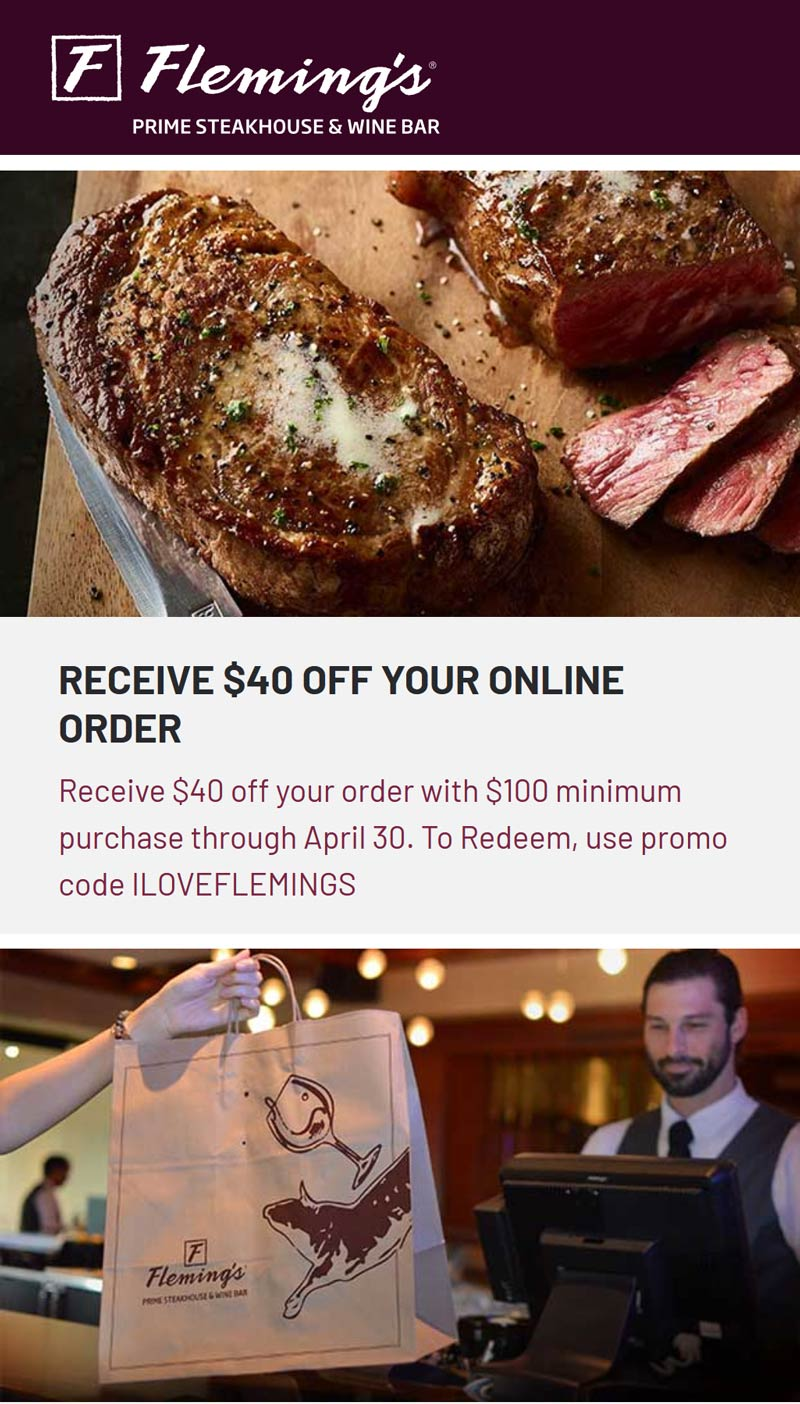 Flemings coupons & promo code for [October 2020]