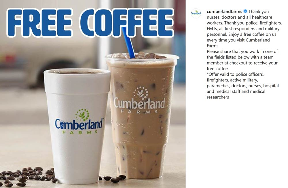 Cumberland Farms coupons & promo code for [June 2020]