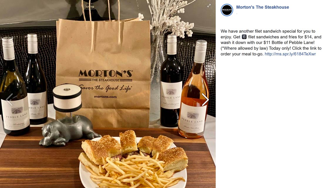 Mortons coupons & promo code for [August 2020]