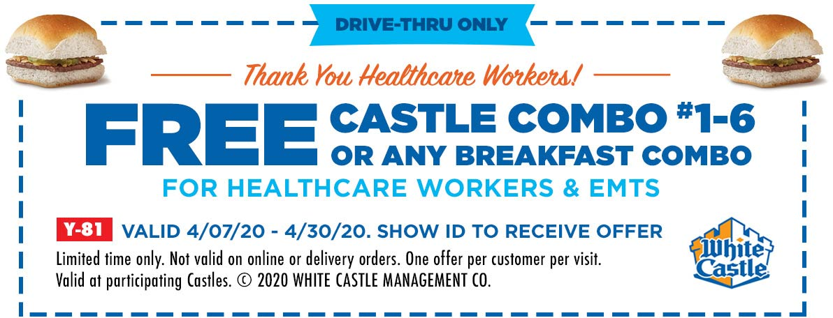 White Castle coupons & promo code for [June 2020]