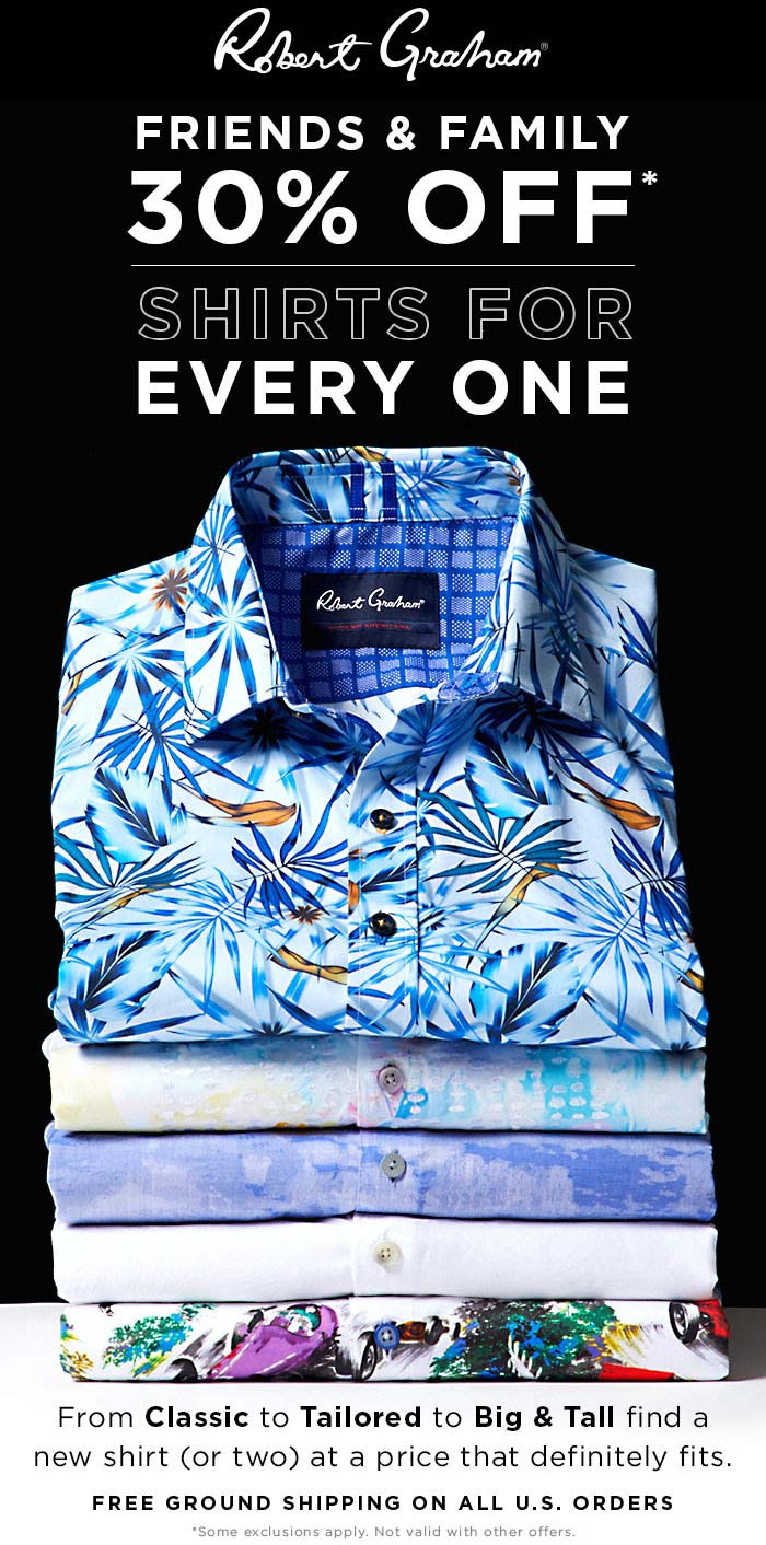 Robert Graham coupons & promo code for [October 2020]