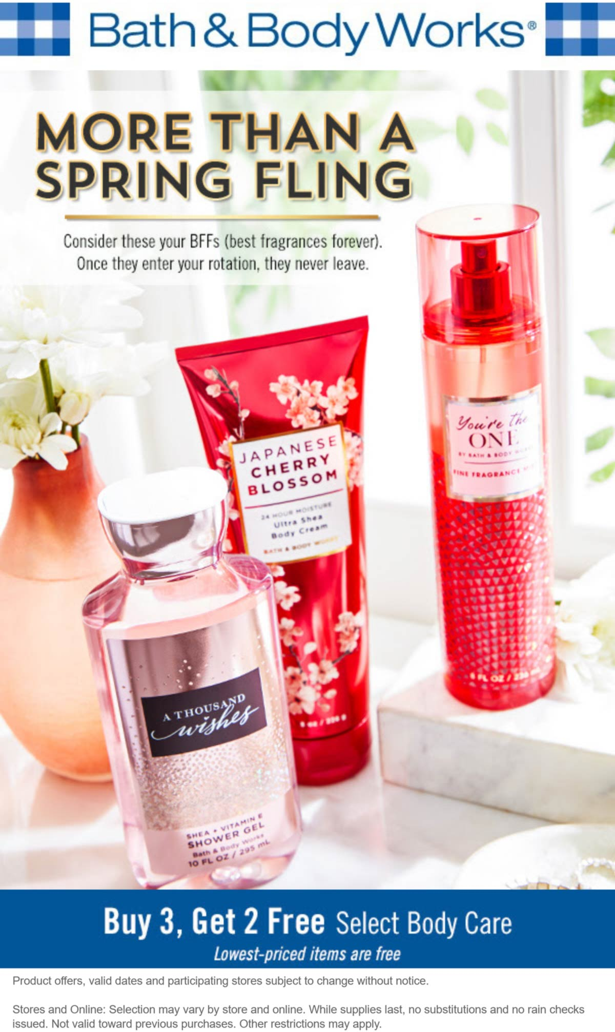 Bath & Body Works coupons & promo code for [May 2021]