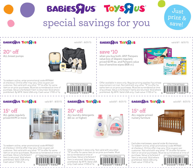 furniture coupons babies r us